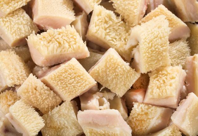 Pieces of Honeycomb Tripe (Beef