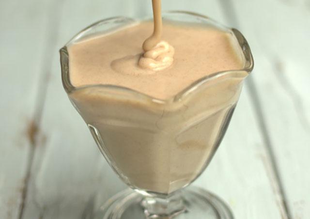 Swerve Sweetened Homemade Condensed Milk.