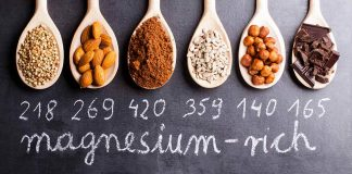 Various Foods High in Magnesium.