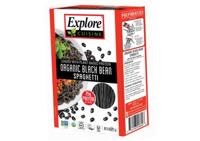 Black Bean Spaghetti by Explore Cuisine.