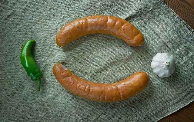 Kielbasa Polish Sausage.