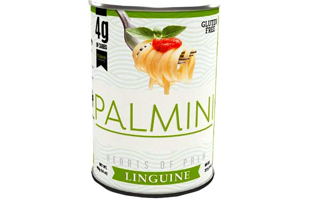 Palmini Noodles - a Low Carb Noodle Made From Hearts of Palm.