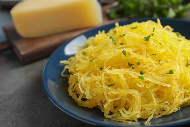 Spaghetti Squash: a Popular Low-Carb Pasta Substitute.
