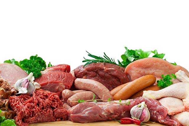 Variety of High Protein Food Options.
