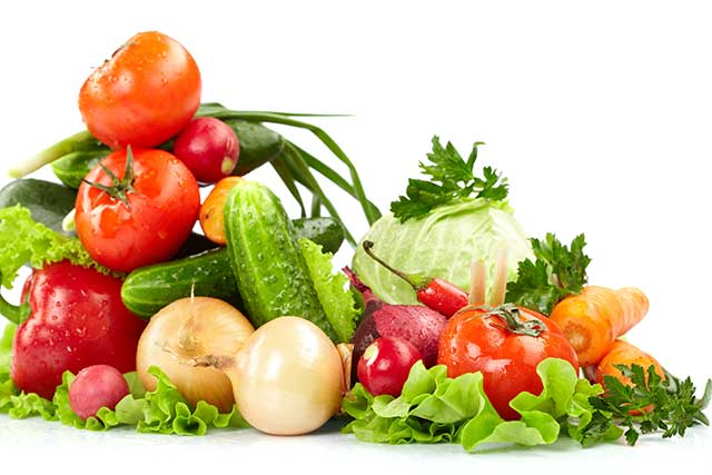 A Variety of Low Carb Vegetables.