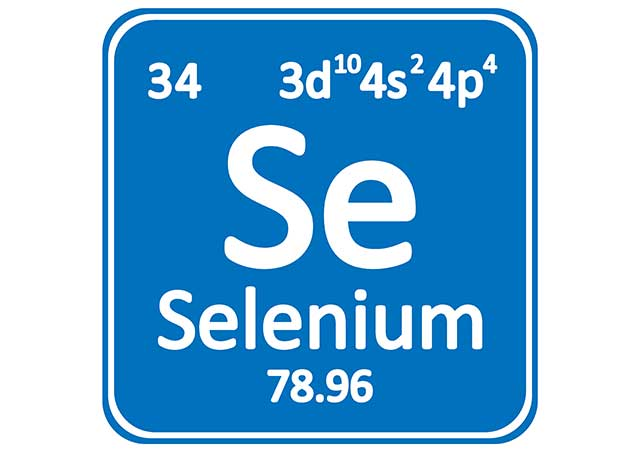 Graphic Showing the Periodic Table Details For Selenium.