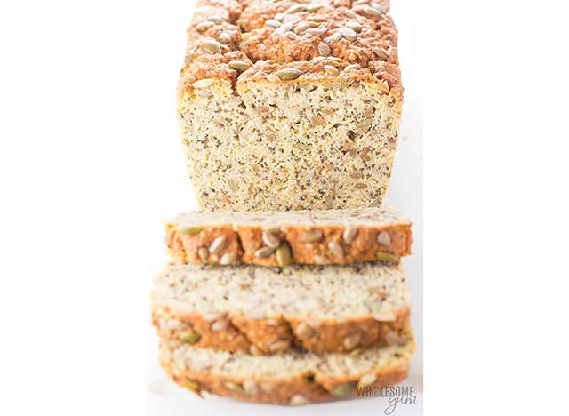 Low Carb Bread Made With Coconut Flour.