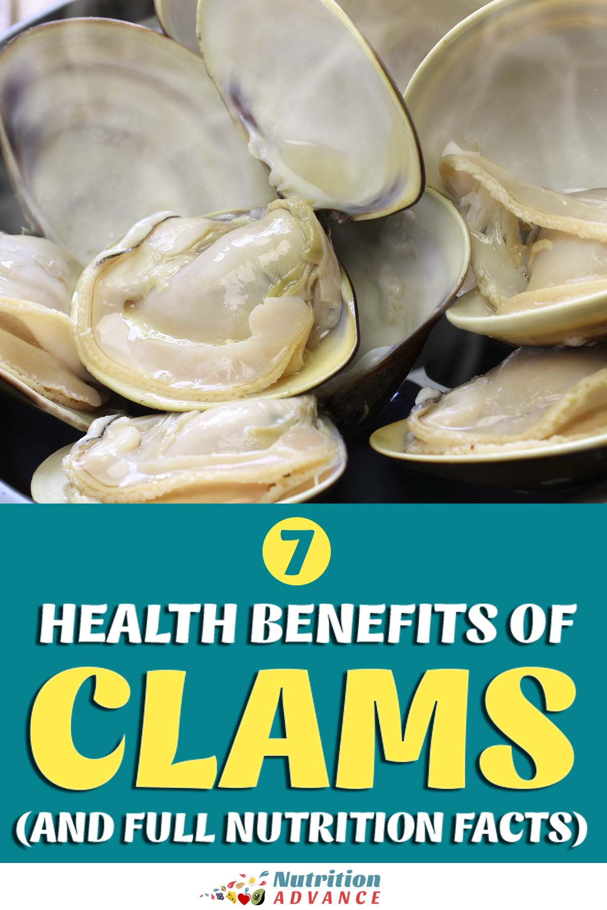 7 Benefits of Clams (and Full Nutrition