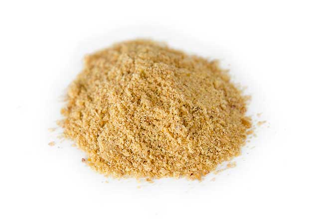 A Pile of Ground Flaxseed Powder.