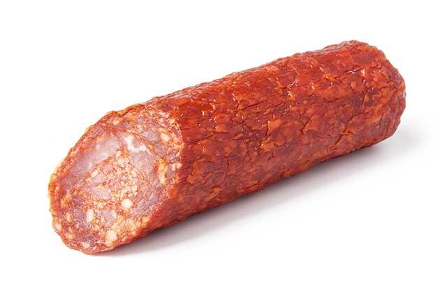 Cured Spanish Chorizo Sausage.
