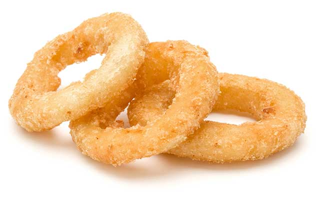 Deep-Fried Calamari Rings.