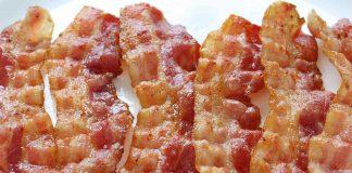 Five Crispy Slices of Bacon.