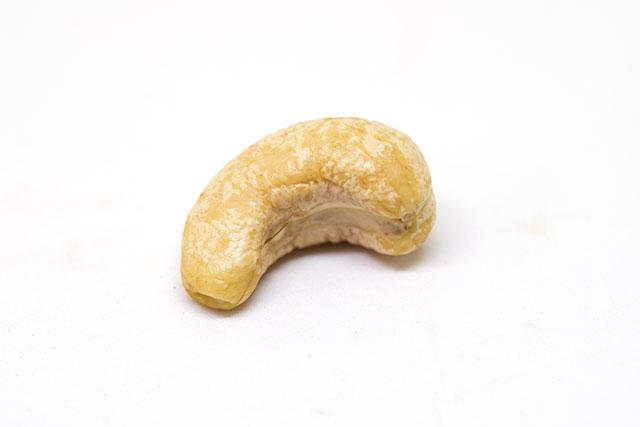 Single Cashew Nut.