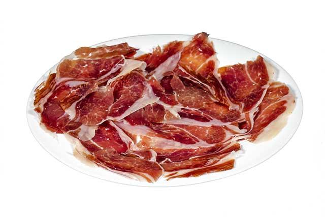 Spanish Jamón Serrano Ham.