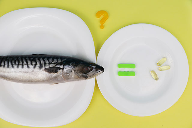 Oily Fish Versus Omega-3 Supplements.