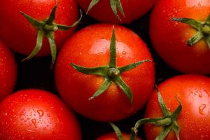 Deep Red Tomatoes