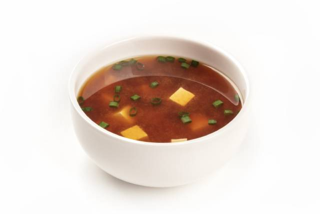 Bowl of Japanese Miso Soup.