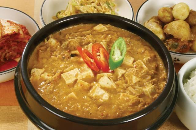 Cheonggukjang: a Fermented Soybean Korean Stew.