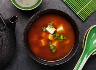 Miso Soup: a Popular Fermented Soy Product.