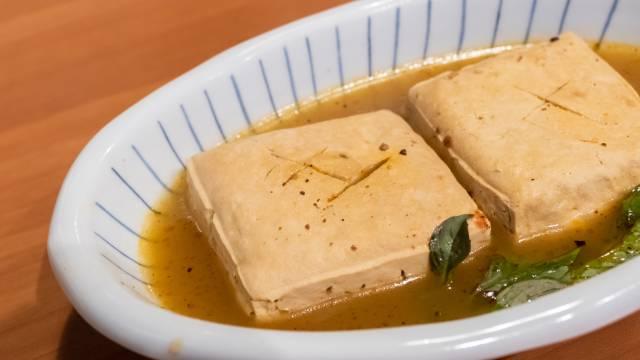 Indonesian Stinky Tofu.
