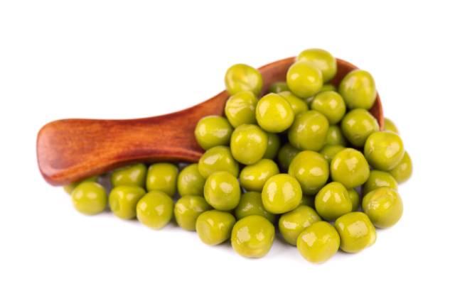 Green Garden Peas.