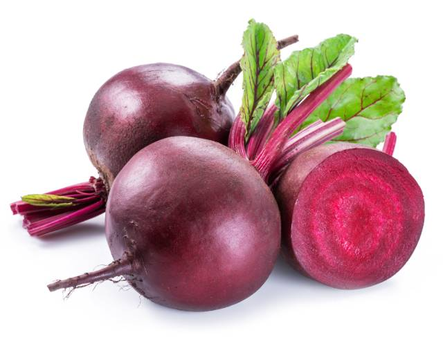 Whole and Half Beets.