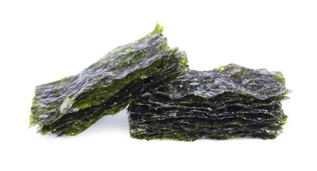 Dried Nori Seaweed Sheets.