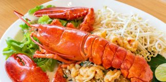 Cooked Lobster On a Plate.