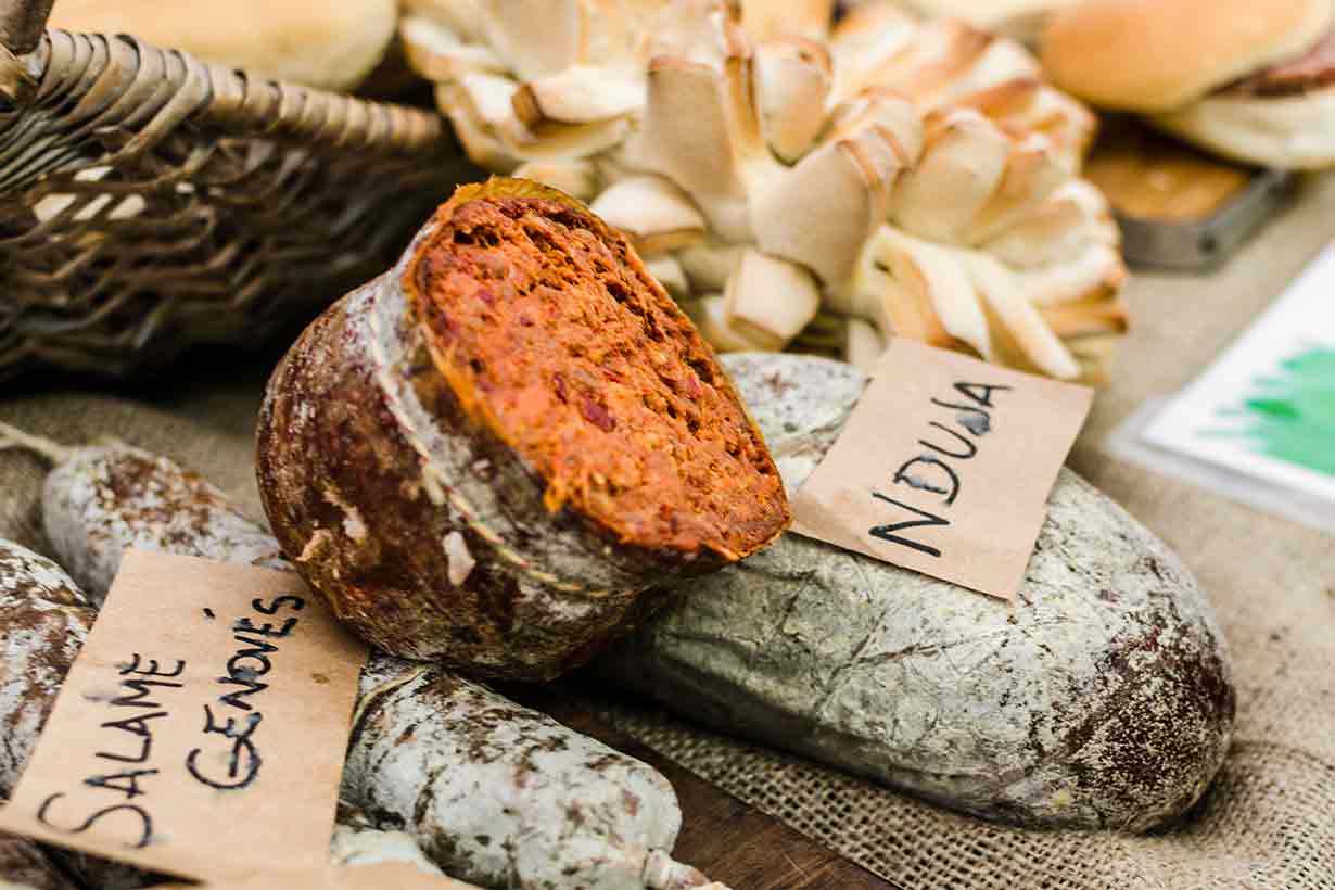 Nduja: a Spicy and Spreadable Cured Meat Product.