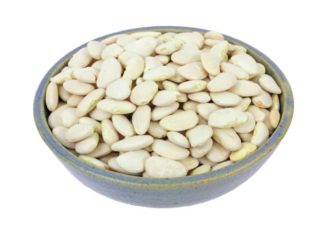 Bowl Full of Lima Beans.