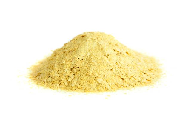 A Pile of Nutritional Yeast Powder.