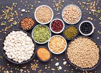Various Beans and Legumes.