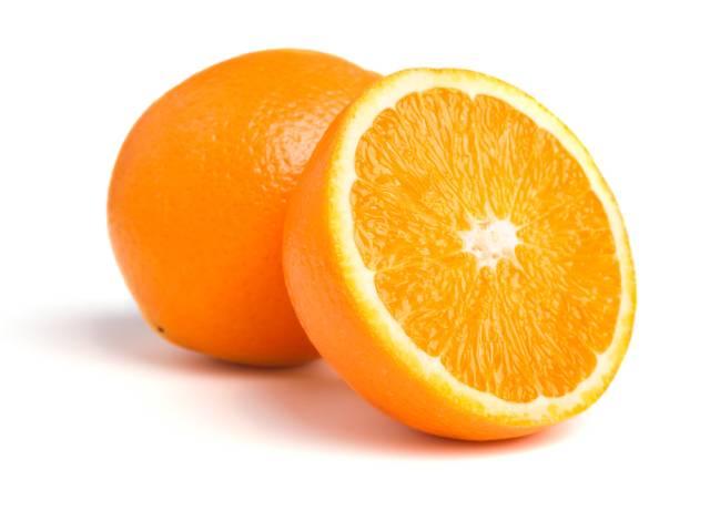One and a Half Fresh Oranges.