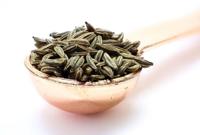 Caraway Seeds In a Scoop.