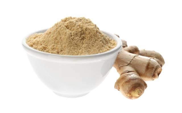 Fresh Ginger Root and Ground Powder.