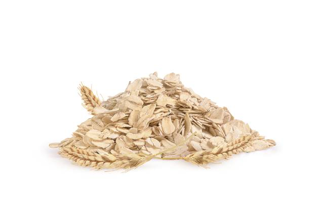 Rolled Oat Flakes and Oat Ears.