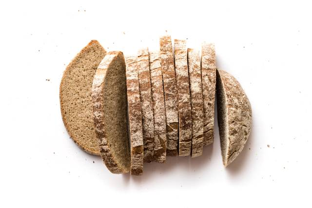 Slices of Rye Bread.