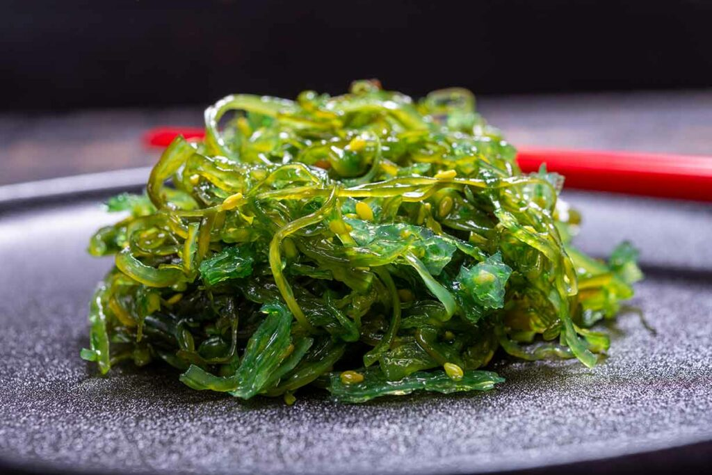 Sea Vegetables: a Type of Seaweed In a Pile.