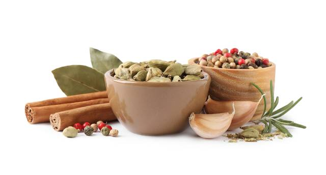 Various Different Herbs and Spices.